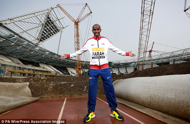 Farah returned to the track where he won double Olympic gold in 2013 to launch the Anniversary Games