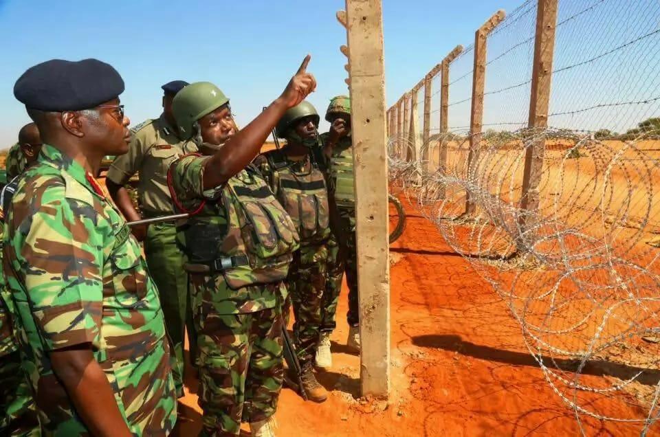 Image result for Kenya Somalia border digging