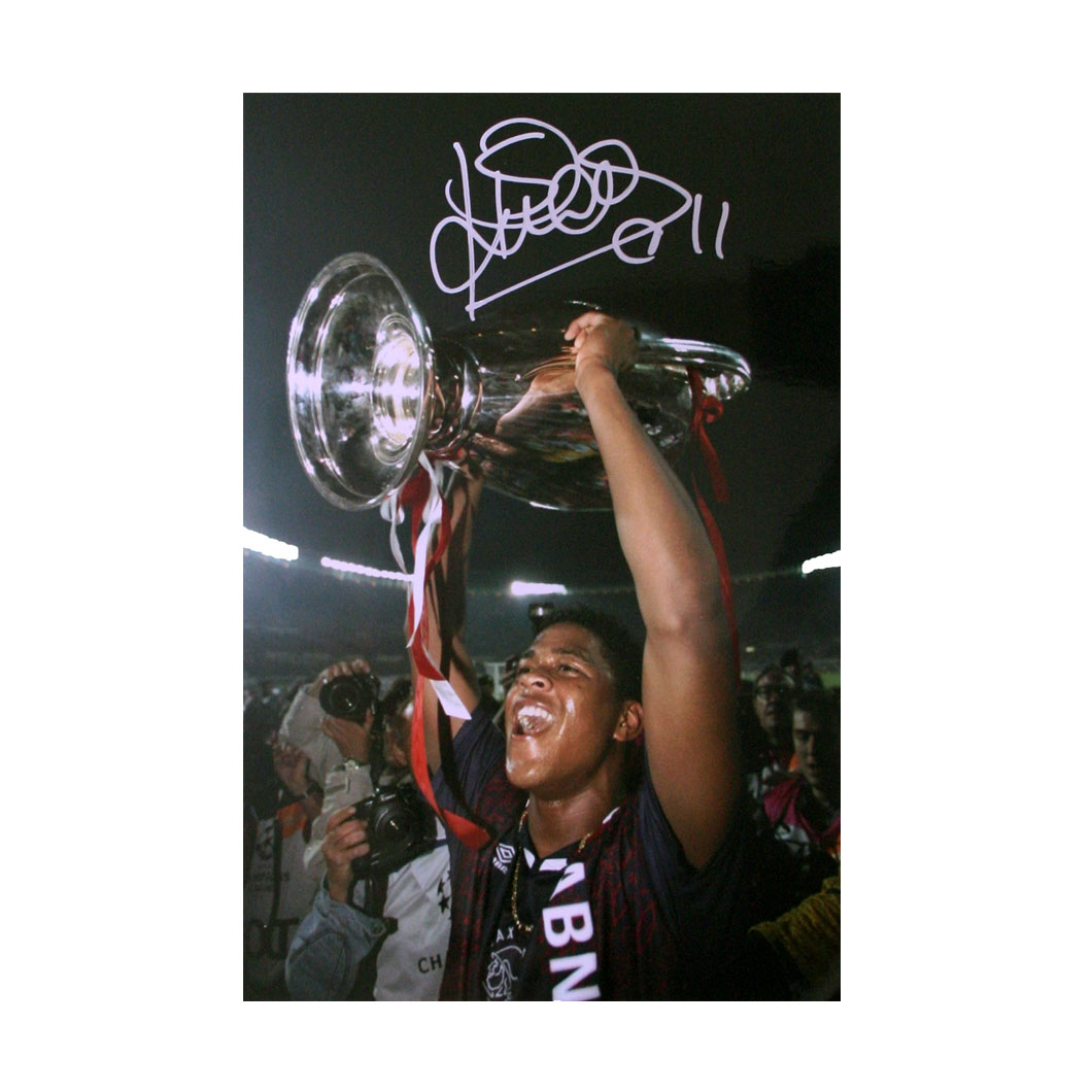 patrick-kluivert-signed-photo--lifting-t