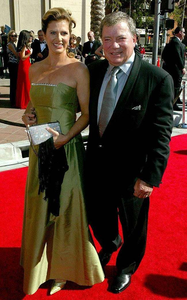 William Shatner is listed (or ranked) 7 on the list 29 Famous Men Who Married Much Younger Women