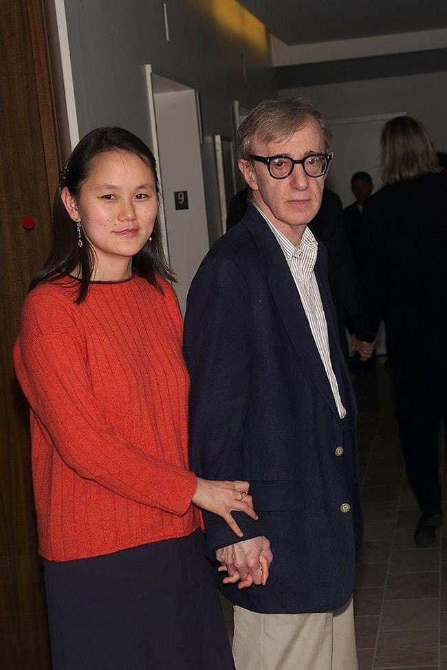 Woody Allen is listed (or ranked) 10 on the list 29 Famous Men Who Married Much Younger Women