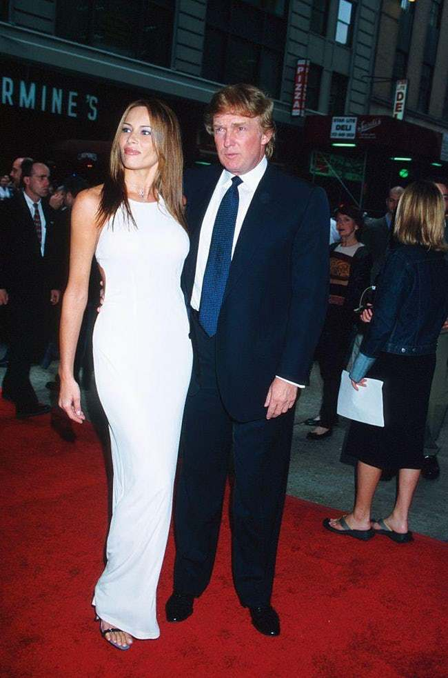 Donald Trump is listed (or ranked) 30 on the list 29 Famous Men Who Married Much Younger Women