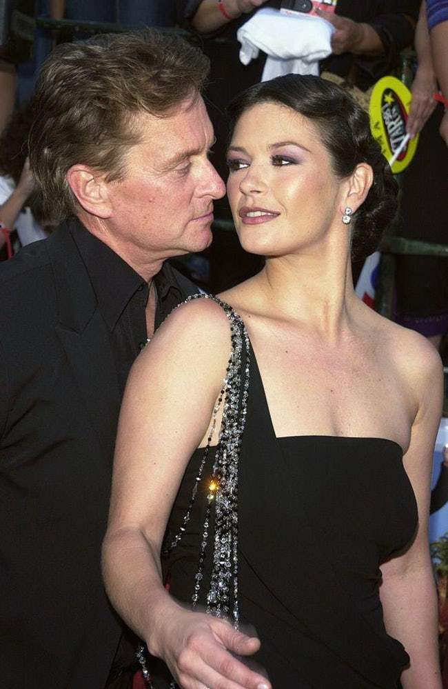 Michael Douglas is listed (or ranked) 17 on the list 29 Famous Men Who Married Much Younger Women
