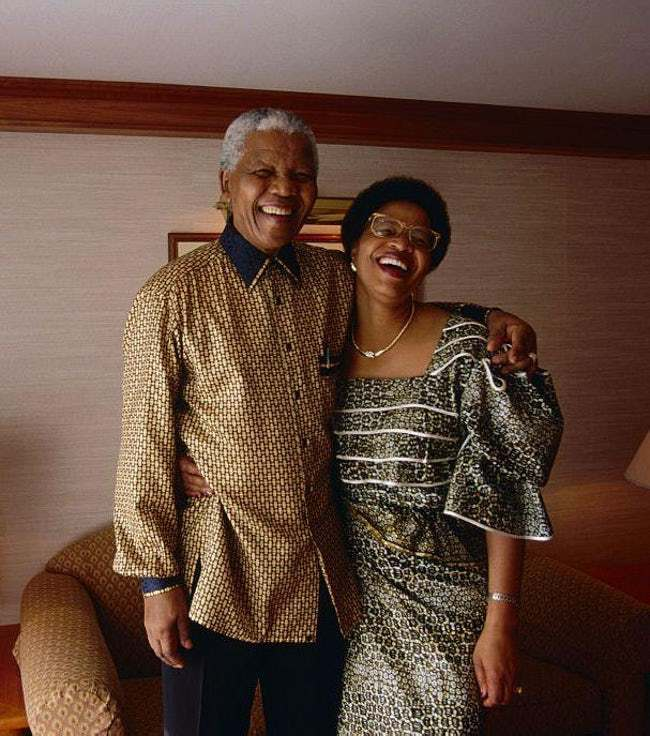 Nelson Mandela is listed (or ranked) 6 on the list 29 Famous Men Who Married Much Younger Women