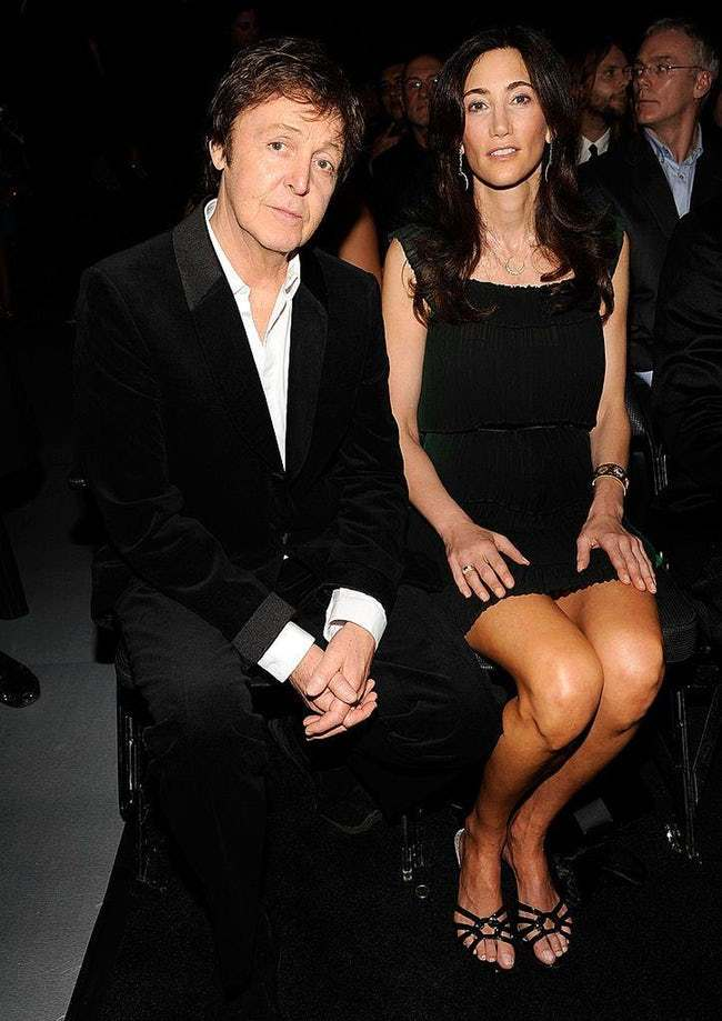 Paul McCartney is listed (or ranked) 14 on the list 29 Famous Men Who Married Much Younger Women