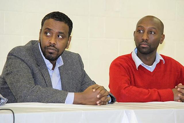 Abdi Warsame and Mohamud Noor