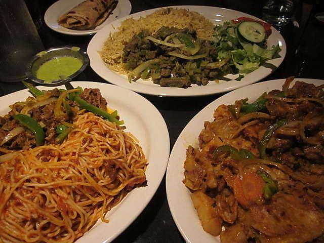 Somali Food Menu