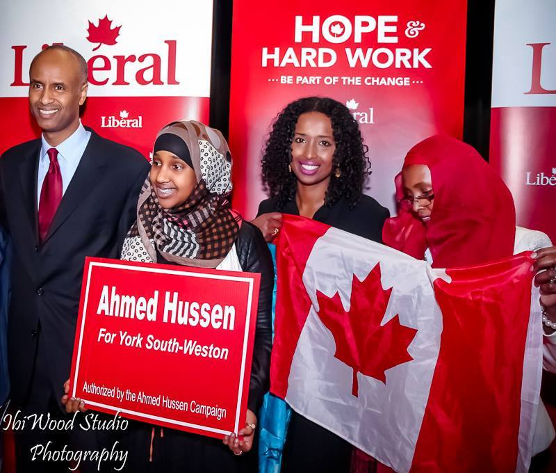 Image result for Ahmed Hussen,